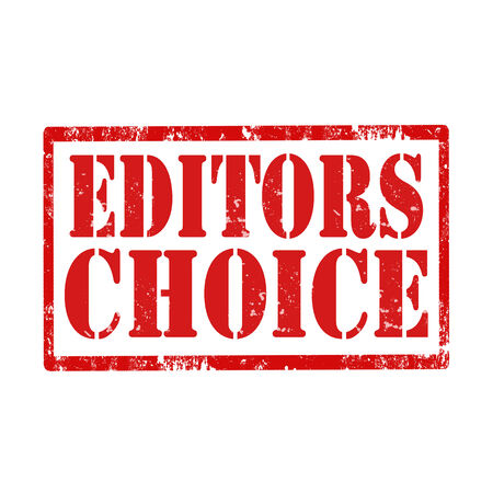 editors: Grunge rubber stamp with text Editors Choice