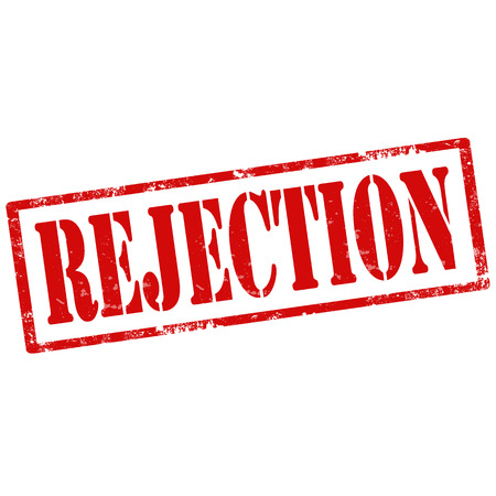 rejection: Grunge rubber stamp with text Rejection,vector illustration