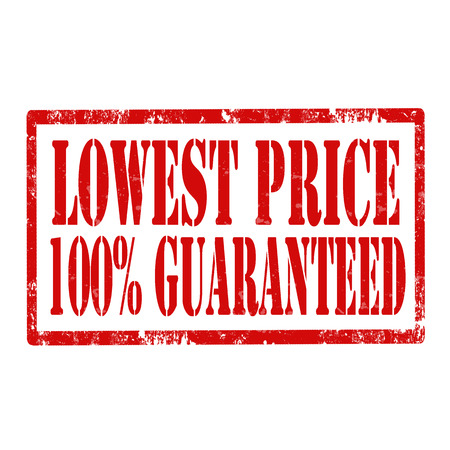 lowest: Grunge rubber stamp with text Lowest Price