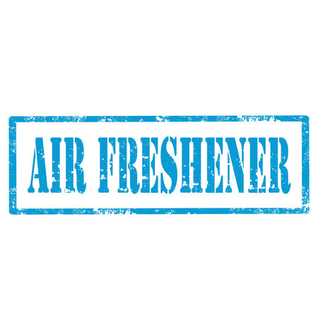 freshener: Grunge rubber stamp with text Air Freshener,vector illustration Illustration
