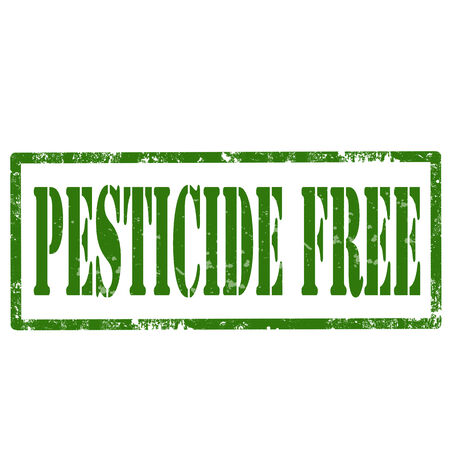 pesticida: Grunge sello de goma con Pesticidas de texto libre, ilustraci�n vectorial Vectores