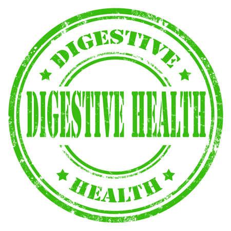 digestive health: Grunge sello de goma con el texto de la Salud Digestiva, ilustraci�n vectorial Vectores