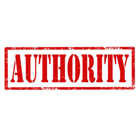 Grunge rubber stamp with text Authority,vector illustration Illustration