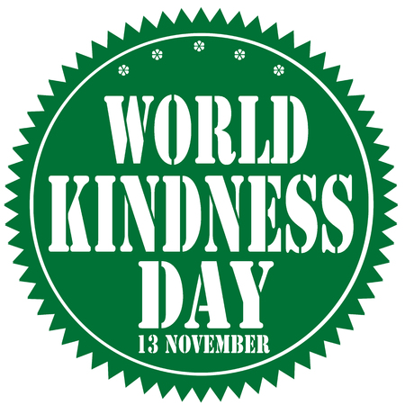 Label with text World Kindness Day