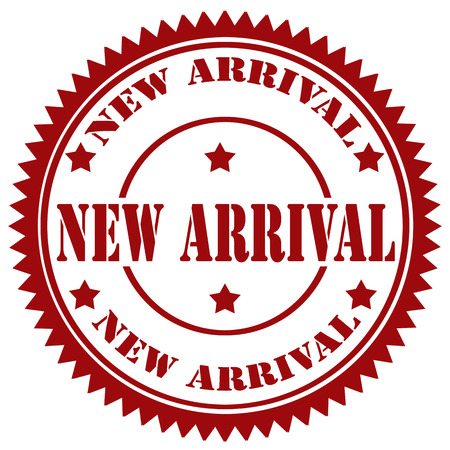 new arrival: Rubber stamp with text New Arrival illustration Illustration