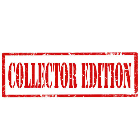 collector: Grunge rubber stamp with text Collector Edition,vector illustration Illustration