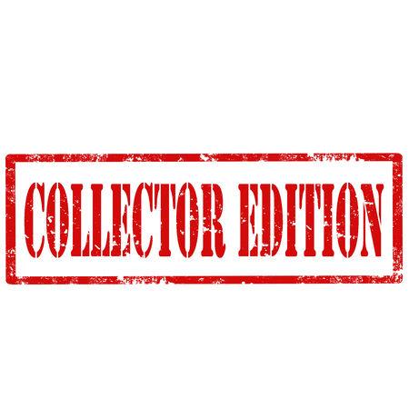 Grunge rubber stamp with text Collector Edition,vector illustration Ilustração