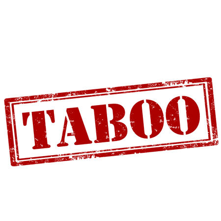 taboo: Grunge rubber stamp with text Taboo,vector illustration Illustration