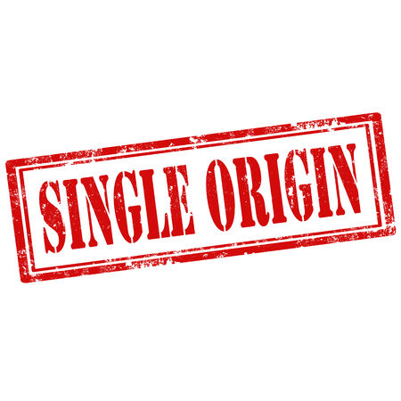 origin: Grunge rubber stamp with text Single Origin,vector illustration