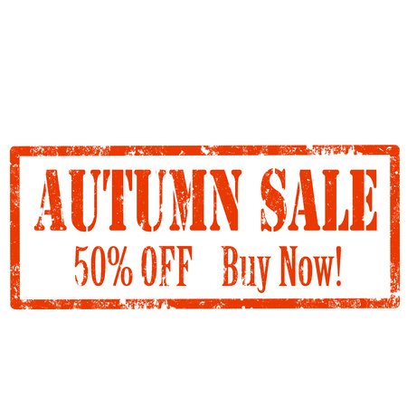 Grunge rubber stamp with text Autumn Sale,vector illustration