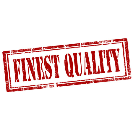 finest: Grunge rubber stamp with text Finest Quality,vector illustration Illustration