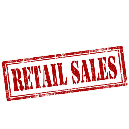 retail sales: Grunge rubber stamp with text Retail Sales,vector illustration