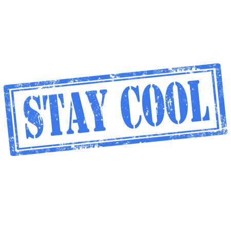 stay: Grunge Rubber stamp with text Stay Cool,vector illustration Illustration