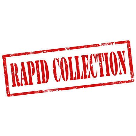rapid: Grunge rubber stamp with text Rapid Collection,vector illustration