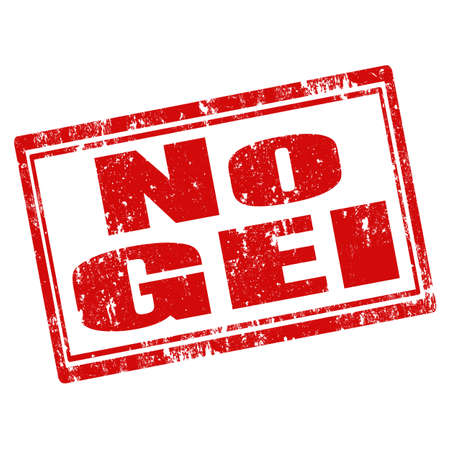 genetically engineered: Grunge rubber stamp with text No GEI (No Genetically Engineered Ingredients),vector illustration