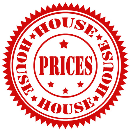 house prices: Rubber stamp with text House Prices,vector illustration Illustration