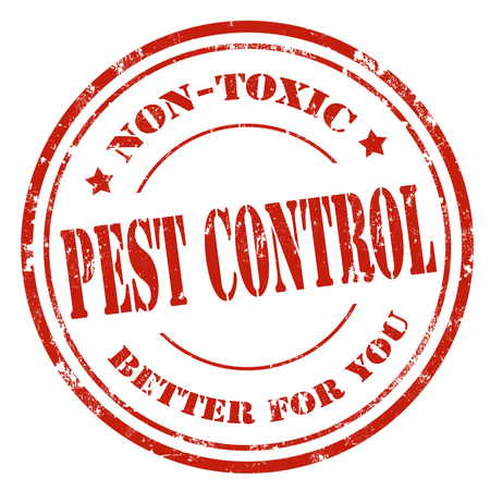 pest control: Grunge rubber stamp with text Pest Control,vector illustration Illustration