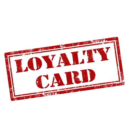 Grunge rubber stamp with text Loyalty Card,vector illustration