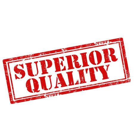 higher quality: Grunge rubber stamp with text Superior Quality,vector illustration
