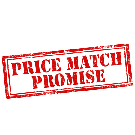 promise: Grunge rubber stamp with text Price Match Promise,vector illustration