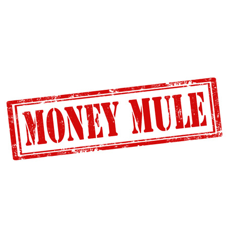 mule: Grunge rubber stamp with text Money Mule