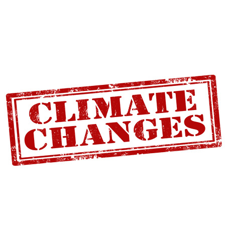 climate changes: Grunge rubber stamp with text Climate Changes,vector illustration