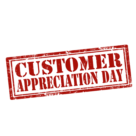 Grunge rubber stamp with text Customer Appreciation Day,vector illustration