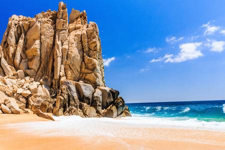 Cabo San Lucas, Mexico. Divorce Beach near Cabo San Lucas, Mexico. Stock Photo