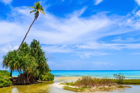 Tabuaeran, Fanning Island, Republic of Kiribati.Tabuaeran beach on the Fanning Island, Republic of Kiribati