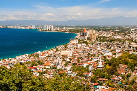 Puerto Vallarta, Mexico.Scenic uitzicht op Puerto Vallarta, Mexico. Stockfoto