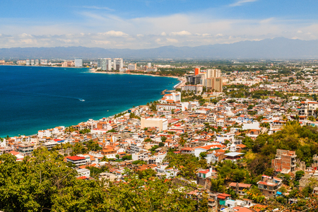 Puerto Vallarta, Mexico.Scenic view of Puerto Vallarta, Mexico.