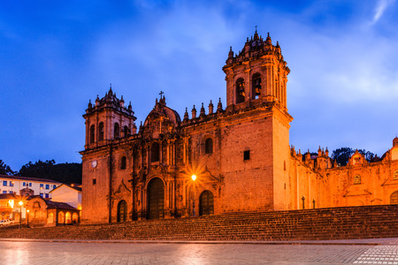 Cusco, Peru. The Cathedral Basilica of the Assumption of the Virgin, also known as Cusco Cathedral.