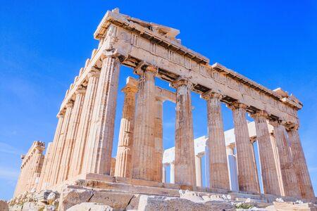 Athens, Greece. Parthenon temple on the Acropolis of Athens, Greece. Stock fotó