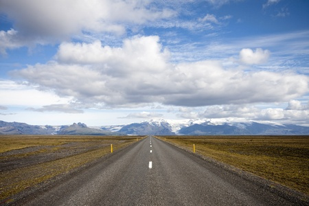 Road in Iceland photo