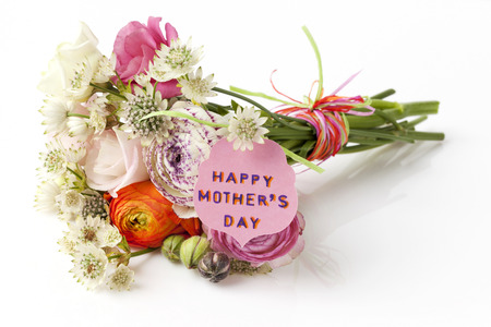 Beautiful bouquet of Spring flowers for Mother photo