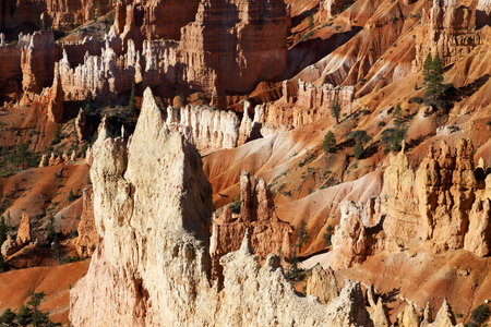 Stunning landscape of Bryce Canyon Stock Photo