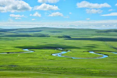 Inner Mongolia Prairie Mozhgrad River