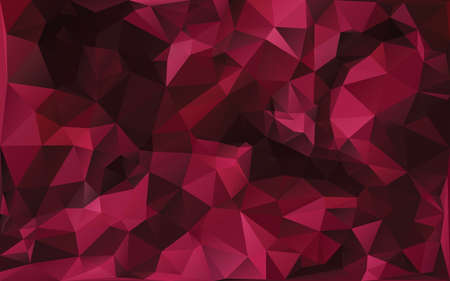 abstract poligonal background in red tones Illustration
