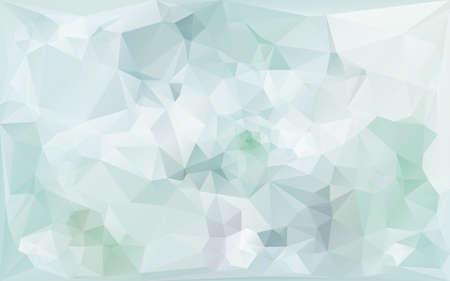 gentle abstract poligonal background in light bluetones Illustration