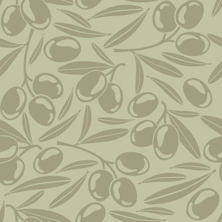 siluet: Seamless background with olives