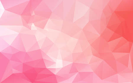 abstract poligonal background in pink tones