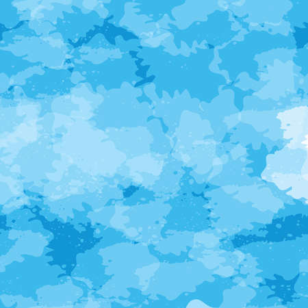 blue seamless vector background imitation water surface