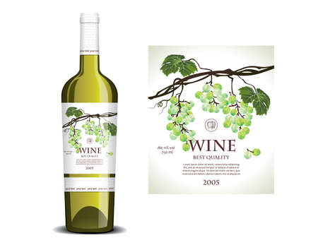 fascicle: Conceptual label for white wine