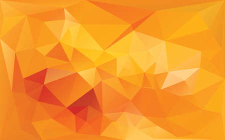 abstract background in yellow orange colors Illustration