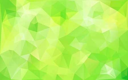 ライム グリーンの色調で抽象的な背景
