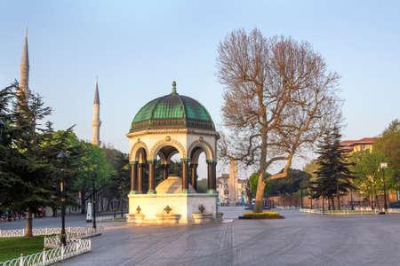 German Fountain in old Hippodrome, Istanbul, Turkey