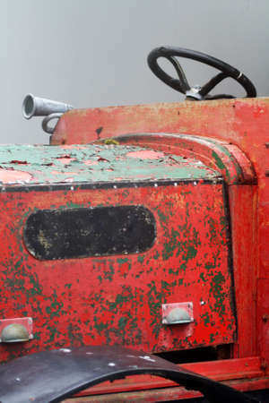 rustic: Rustic Tractor Stock Photo