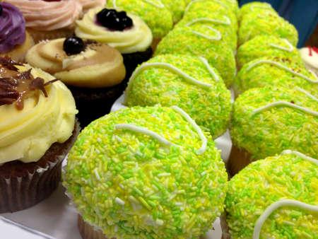 wimbledon: Tennis Cupcakes