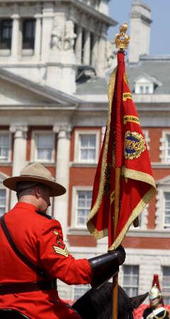 Royal Canadian Mounted Policeman London England