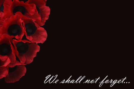 not forget: We shall not forget